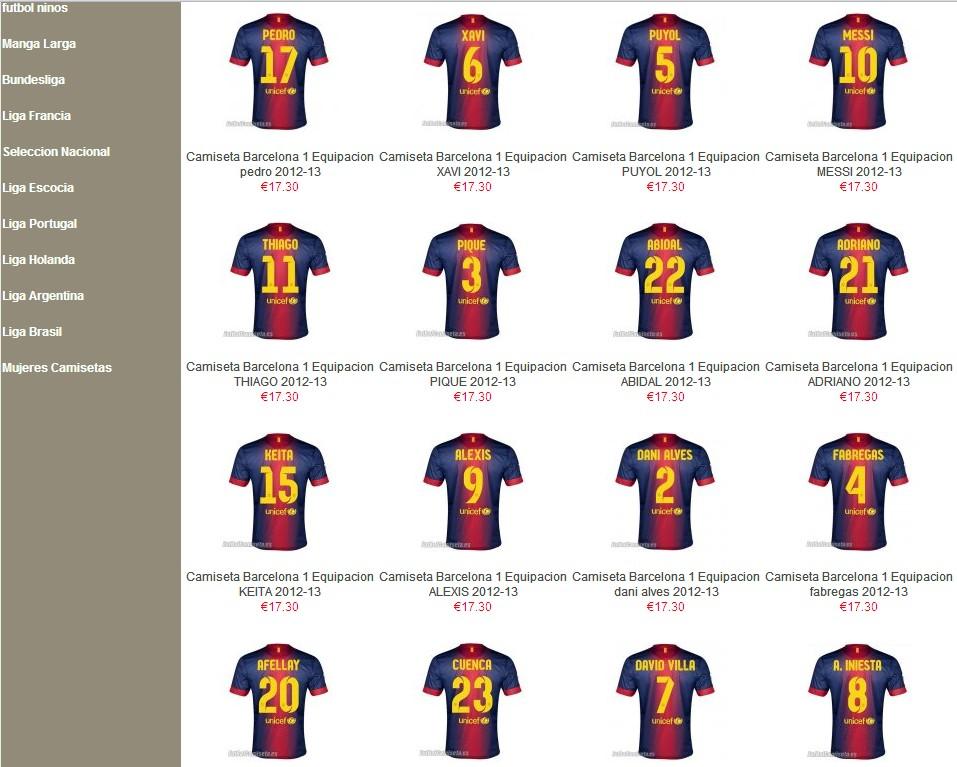 Camiseta Barcelona 2 Equipacion con pantalones para la temporada 2012 2013.  Hazte con la nueva equipación alternativa del Barça para sus encuentros  como ... faf35df17f485
