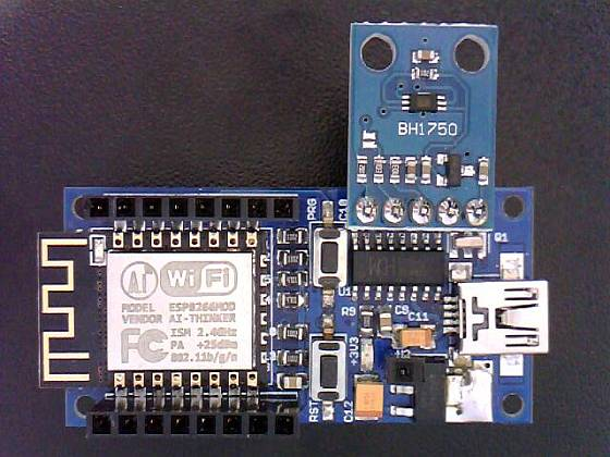 ESP8266 Projects: AC PWM Dimmer with Light Sensor