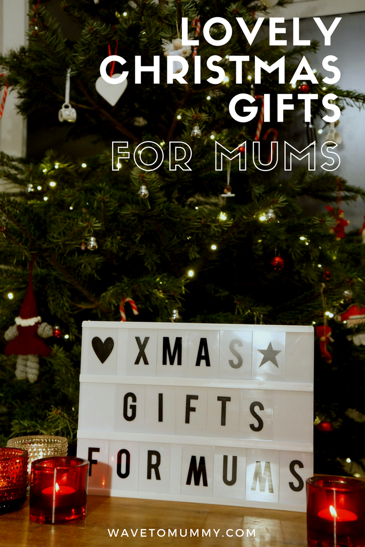 Lovely Christmas gifts for mums - including jewellery designed for mums, lovely pampering packages and other slightly luxurious, mum-only items!