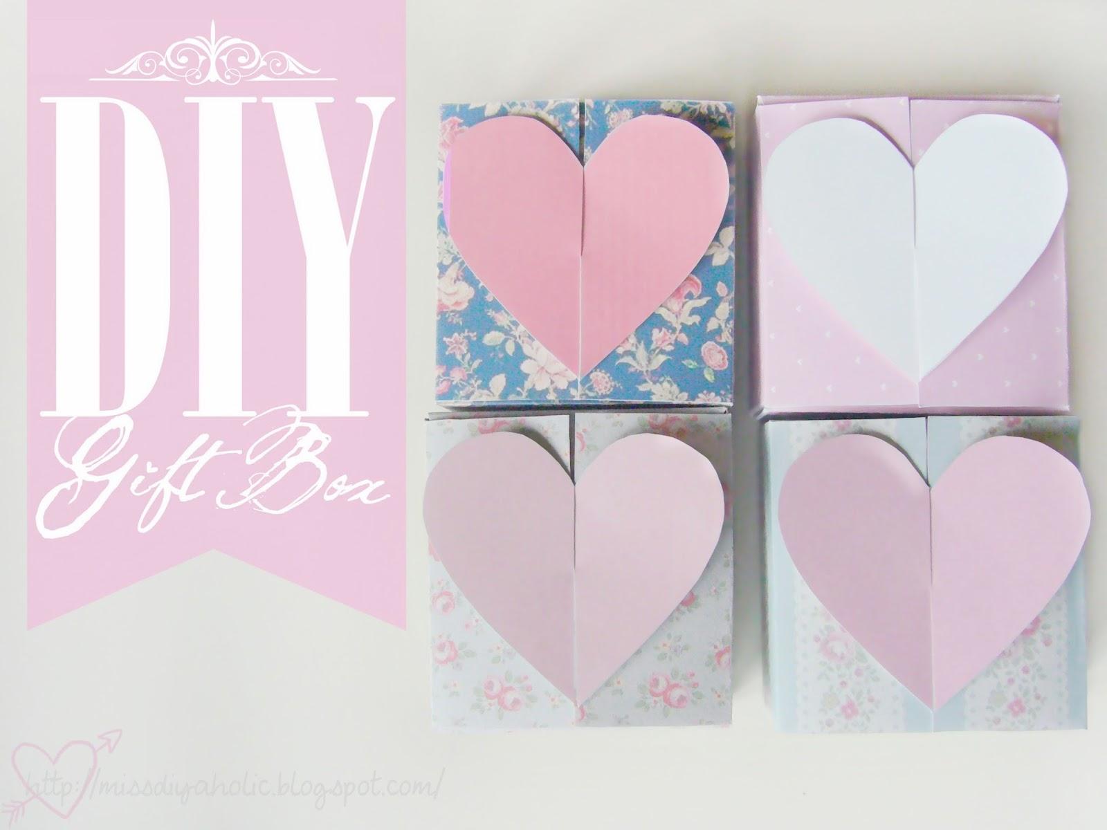 DIY Gift Box Printables