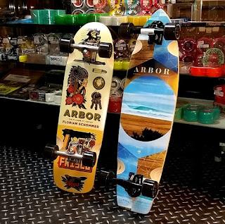アーバースケートボードは高級感抜群の大人のクルーザースケートボード