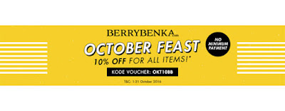 October Feast Diskon10% - Berrybenka