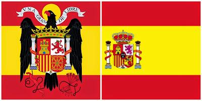 Imagini pentru bandera franquista