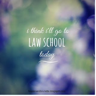 law school lifestyle blog | brazenandbrunette.com