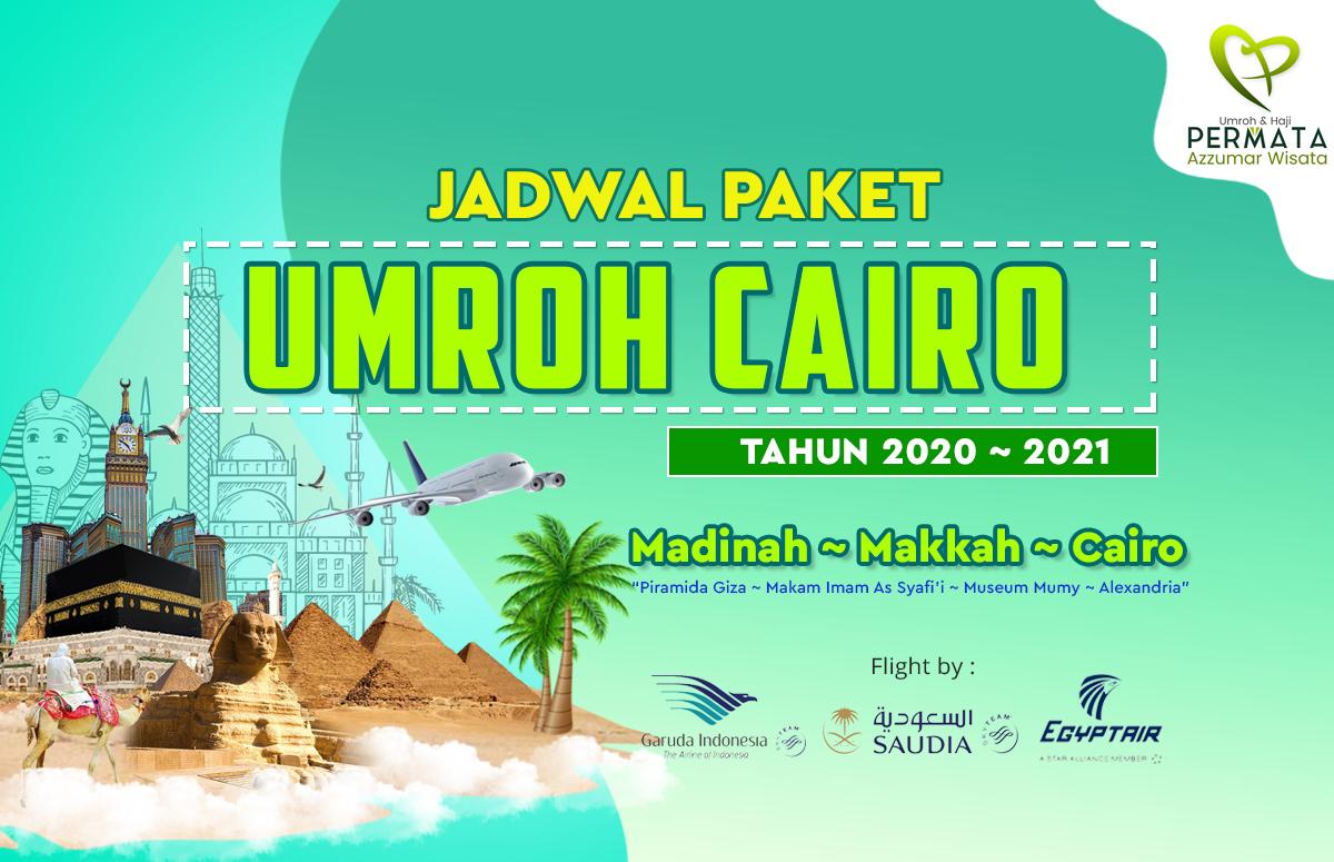 Biaya Paket Promo Umroh Plus Cairo Murah 2020 - 2021
