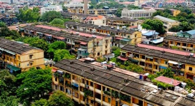 Chung cư cũ tại Hà Nội