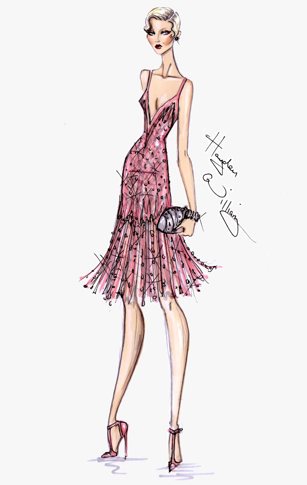 Hayden Williams Fashion Illustrations: May 2013