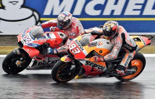 Dovizioso Marquez Bersaing Juara MotoGP 2017