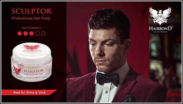 Pomade Hairbond Sculptor Professional Hair Putty