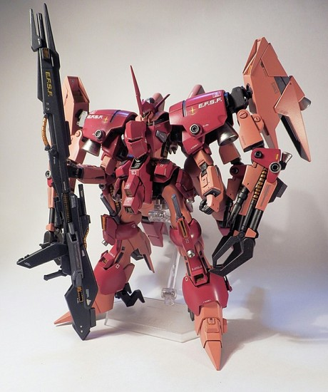 Custom Build: HG 1/144 Byarlant Ashura