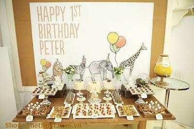 Dịch vụ tổ chức tiệc sinh nhật cho bé đang rất được quan tâm