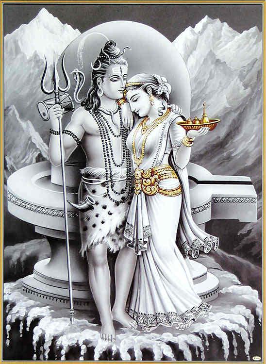 Lord Shiva & Parvathi