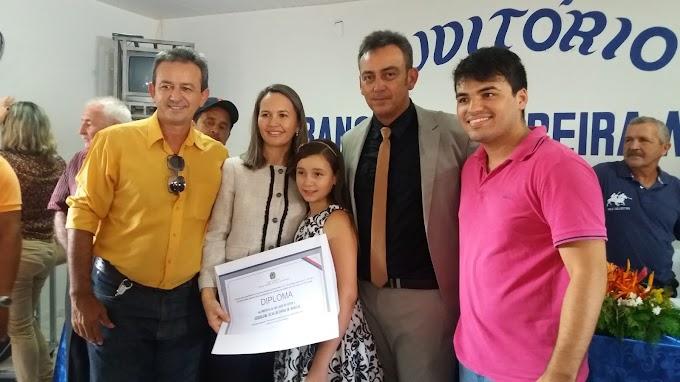 Prefeita eleita Josa (PSD) é diplomada em São João do Sóter