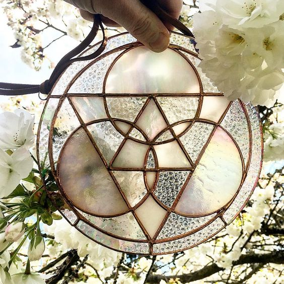 Sacred geometry: Stained Glass from Colin Adrian