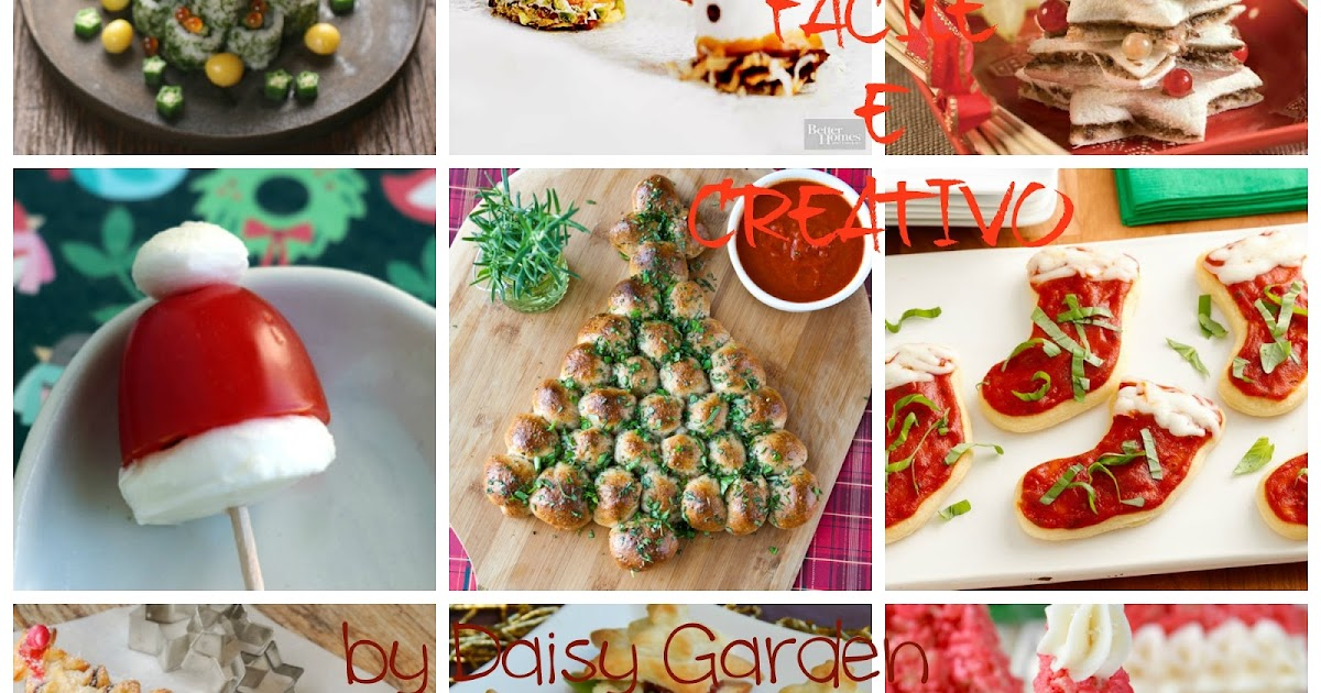 Daisy Garden: Idee per un pranzo di Natale creativo e facile - 2 versione