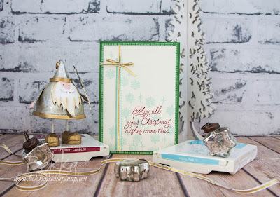 Make In A Moment Monday Christmas Card featuring the This Christmas Suite from Stampin' Up! UK
