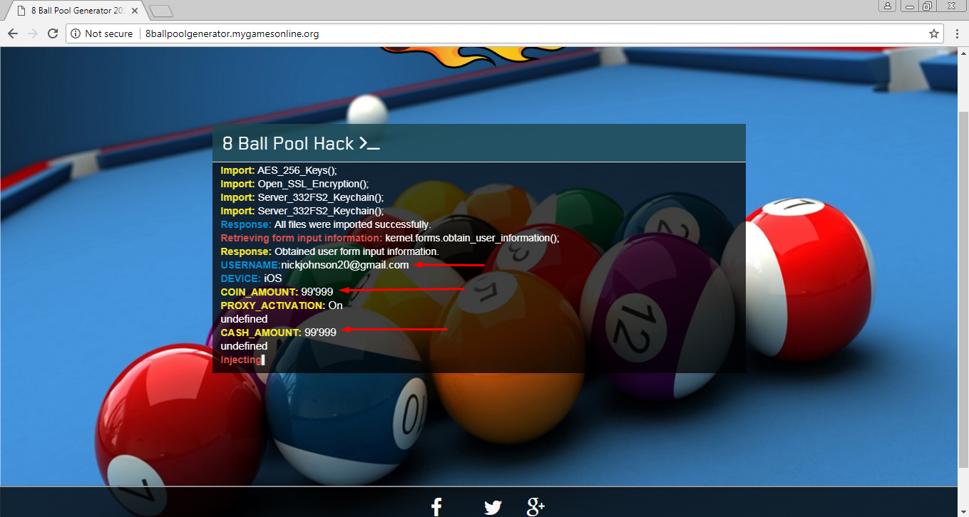 8 ball pool proxy