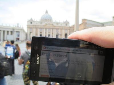 selfie Rome