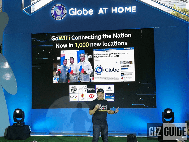 Globe Debuts Big Data Home Connection Plans Starting At PHP 1299