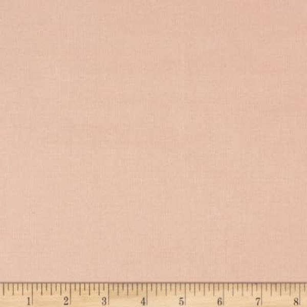 Kaufman Essex Linen Blend Rose Fabric