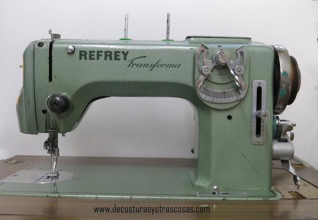 máquina de coser  refrey 427