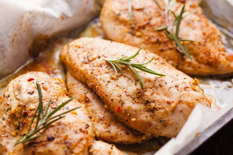almuerzos saludables receta de pollo picante almuerzos