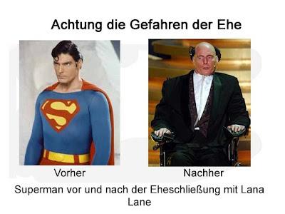 Superman Hochzeit mit Lana Lane lustig