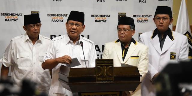 Gerindra Kemungkinan Deklarasi Prabowo dan Cawapres Bulan Depan
