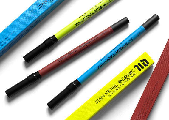 UD Jean-Michel Basquiat Collection Urban Decay Review 24/7 Eye Pencils Review