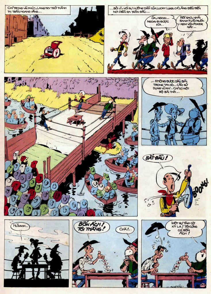 Lucky Luke tập 21 - sợi dây biết hát trang 22