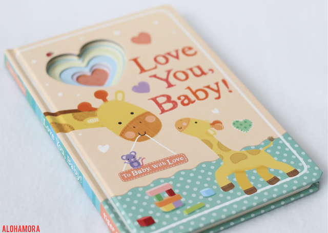 Love You, Baby! by Tiger Tales gets 4 out of 5 stars in my book review of this simple, sweet baby board book.  Giltter hearts, peek through pages, and beautiful calming colors make this book a winner for reading with babies and toddlers.. Great book. Read to your kids. What to read.  Start them young.  Alohamora Open a Book www.alohamoraopenabook.blogspot.com