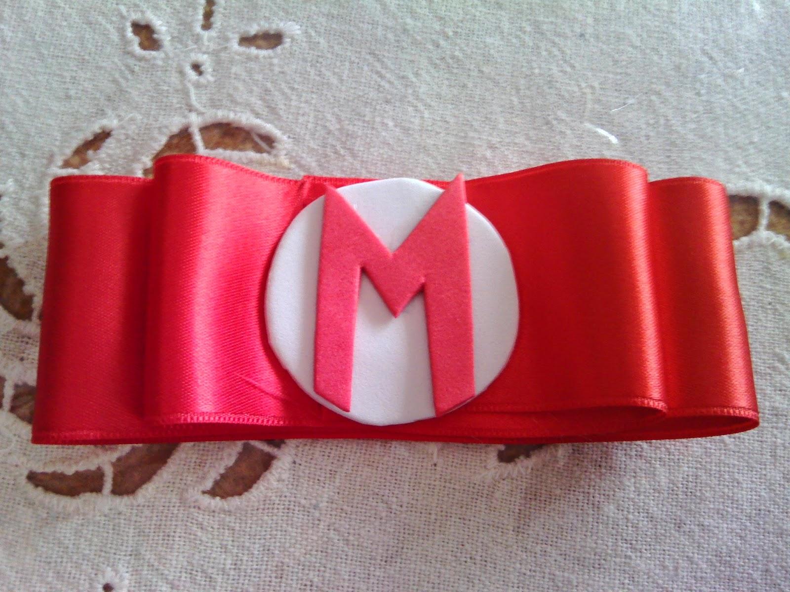 El Recoveco De Las Manualidades Disfraz Mario Bros - Como-hacer-lazos-para-diademas
