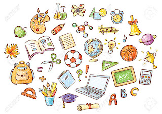 Materi 'Things at School' beserta Contoh Kalimat Soal Latihannya