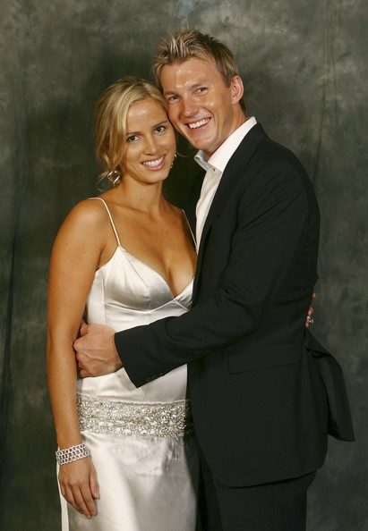 Brett Lee With His Lovely Wife Latest Photos 2013 All