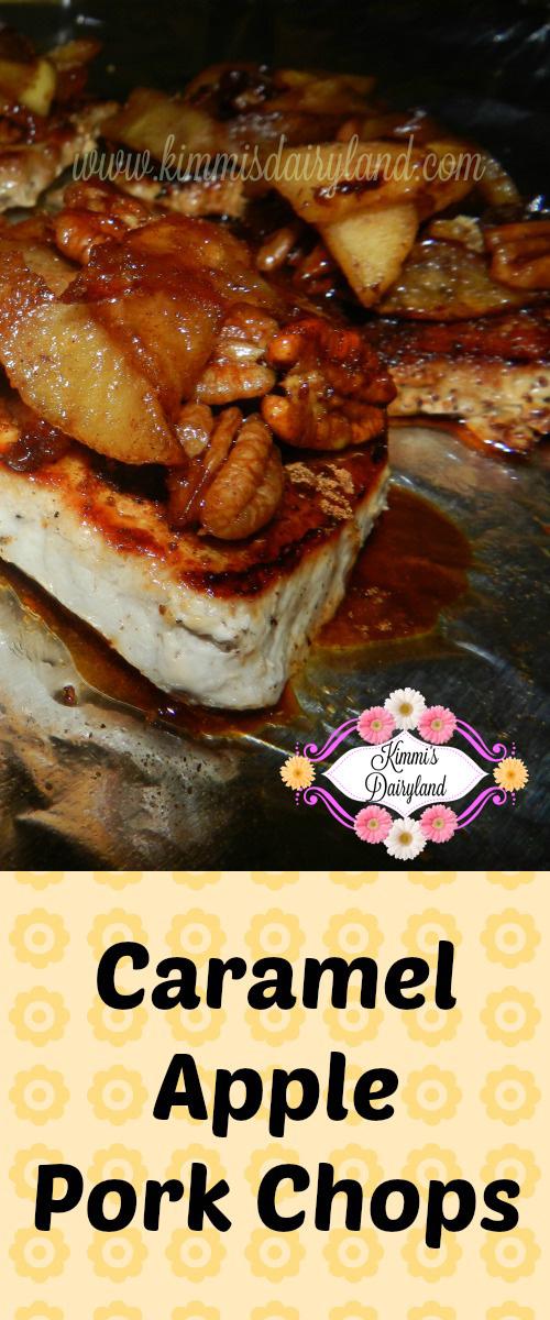 Kimmi's Dairyland: Caramel Apple Pork Chops