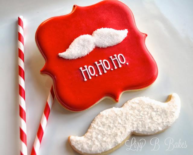 mustache+cookies 20 Festive Holiday Treats 61