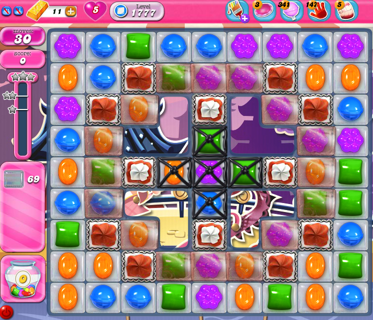 Candy Crush Saga 1777