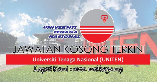 Jawatan Kosong Terkini 2017 di Universiti Tenaga Nasional (UNITEN)
