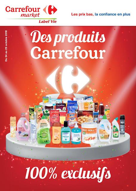 catalogue carrefour market maroc octobre 2018