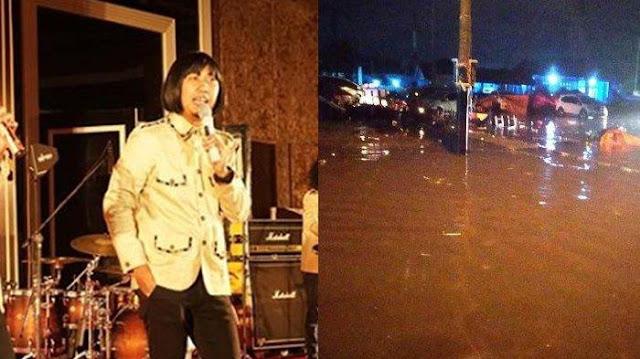 Komedian Ade Jigo Selamat Dari Tsunami Banten