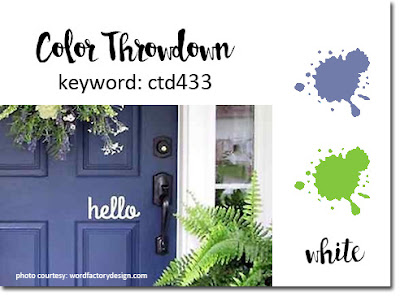Color Throwdown #433