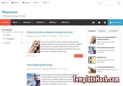 phantom blogger template