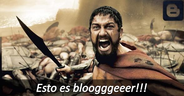 Leonidas de Esparta defiende Blogger