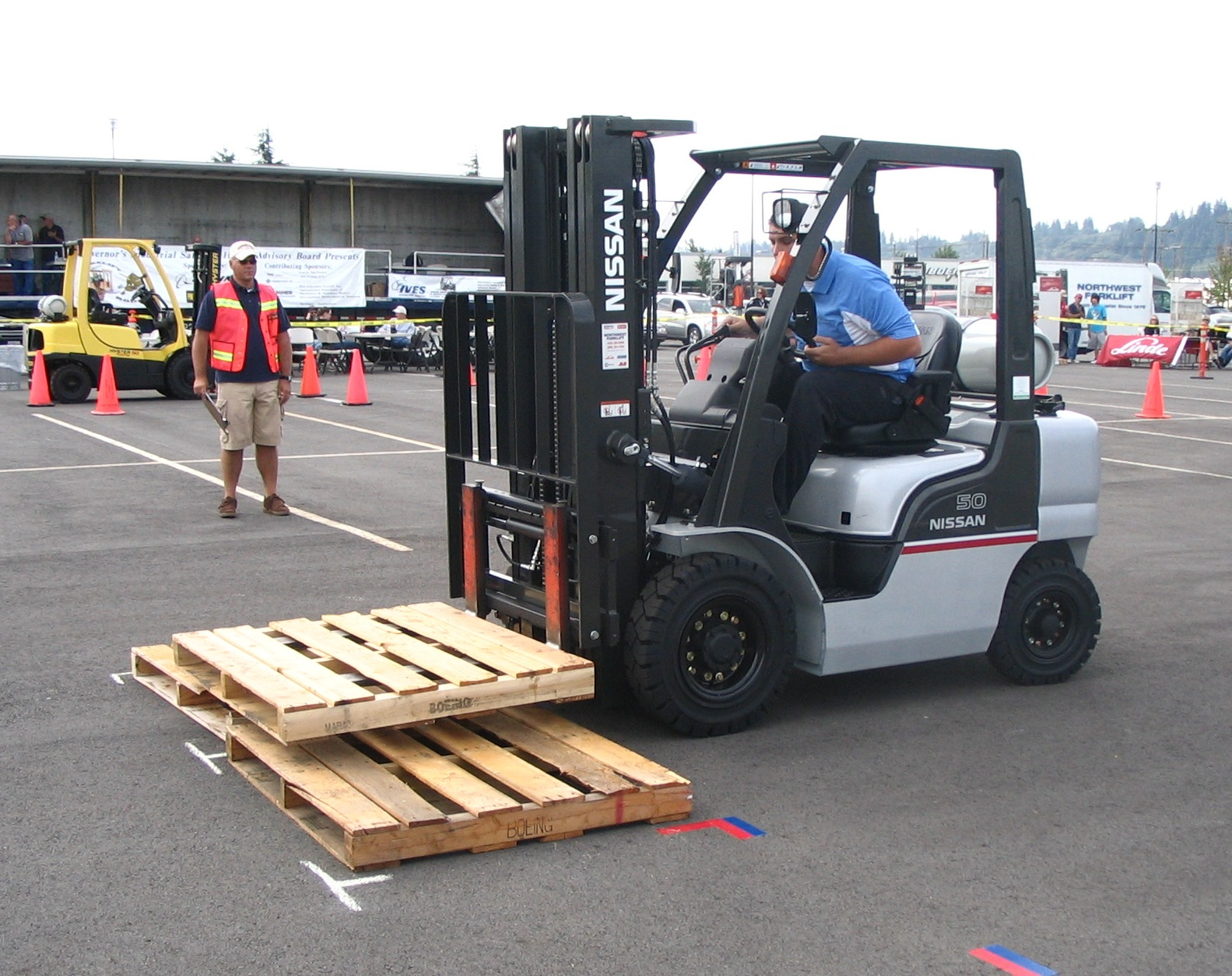 Evergreen Safety News 14th Annual Forklift Rodeo