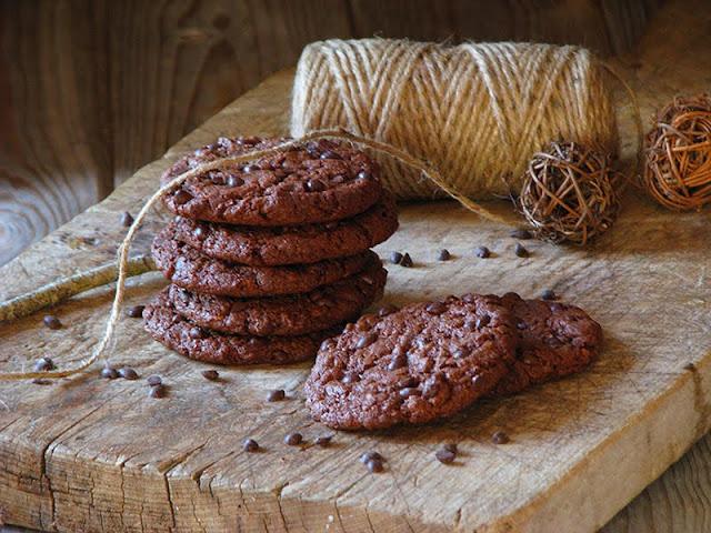 recette de cookies bio au chocolat