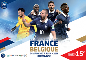 france vs belgique retransmission tv en direct 7 juin 2015. Black Bedroom Furniture Sets. Home Design Ideas