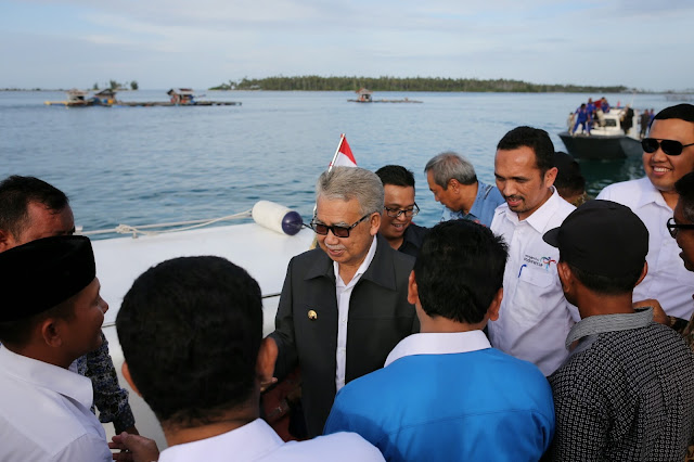Gubernur Aceh Janji Bangun Infrastruktur di Pulau Banyak