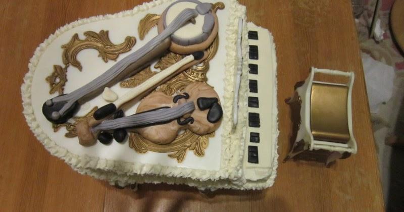 Missy S Homemaking Adventures Piano Cake