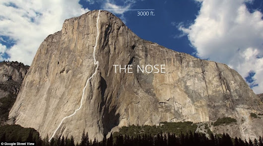 The Nose, El Capitan, 5.9+ C2 Grade VI