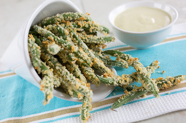 Recipe: Crispy Green Bean Fries